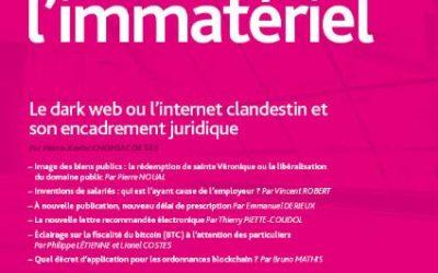 Le Dark Web ou l'internet clandestin et son encadrement juridique