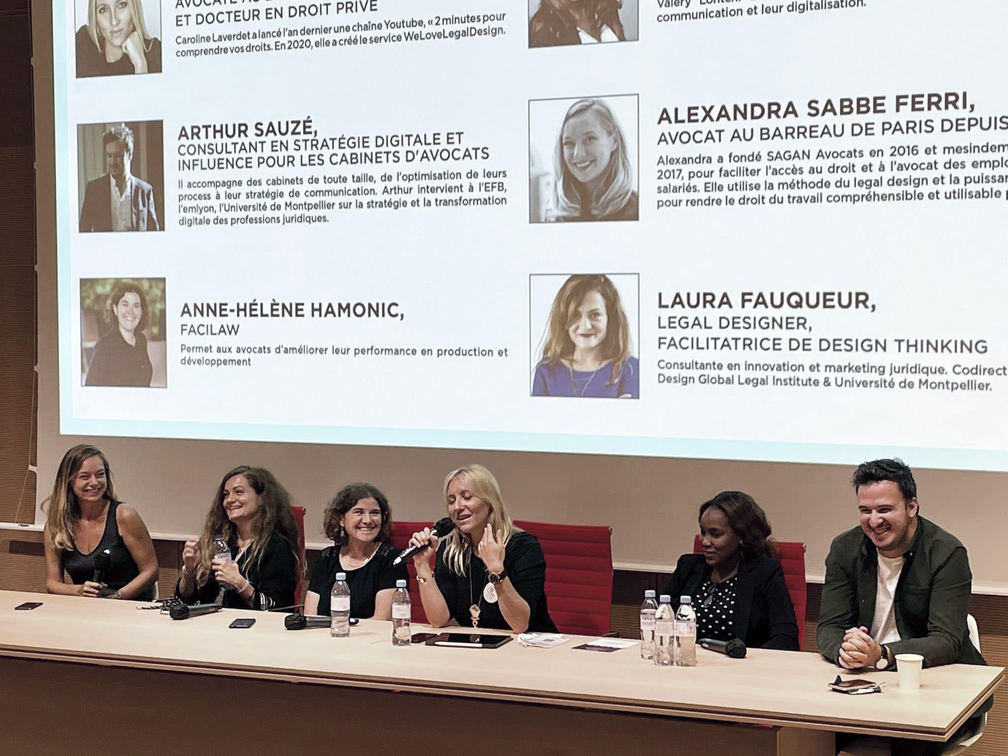 Deuxième conférence de la journée du numérique consacré à l'identité et la communication des avocats
