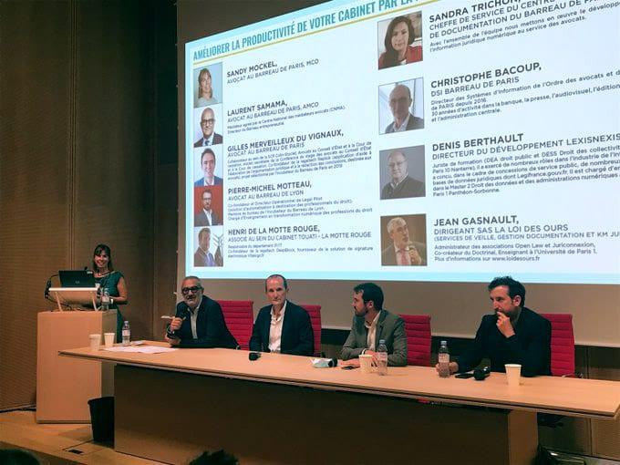 Première conférence de la journée du numérique