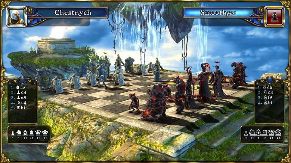 Battle vs Chess - Un nouveau jeu vidéo centré sur les échecs
