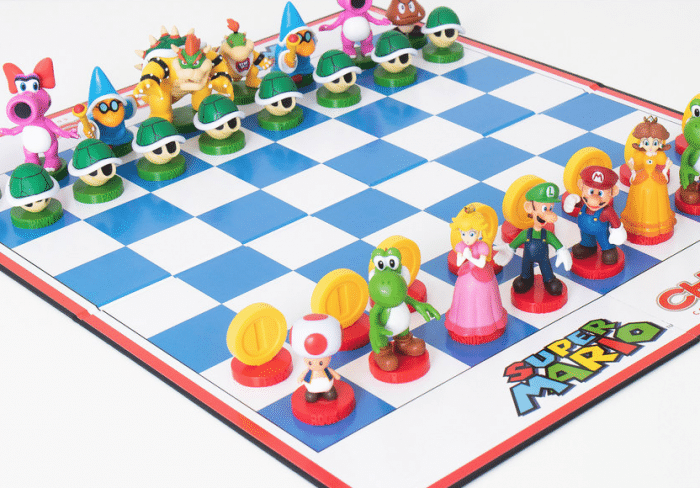 Jeu d'échecs Super Mario - Mélange de genre entre sport et esport